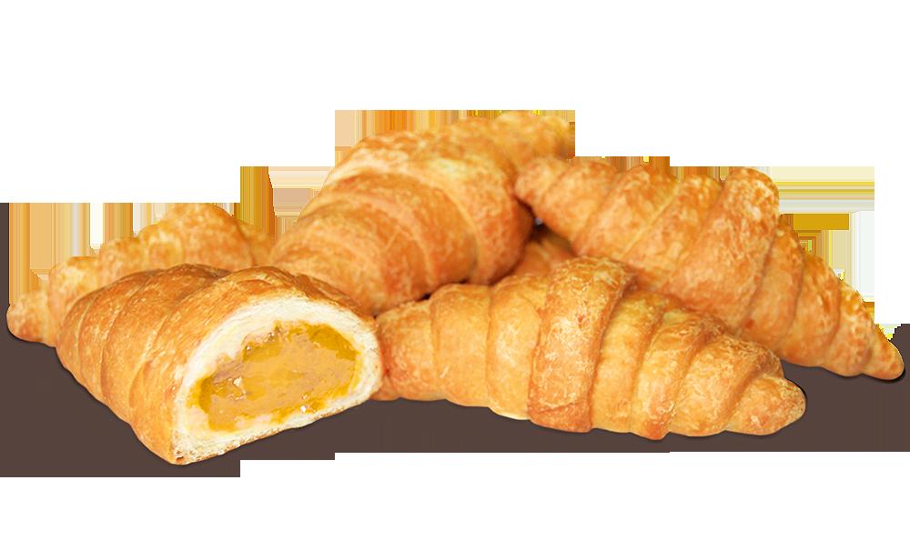 Круасани-міні з апельсином  маса 200 г