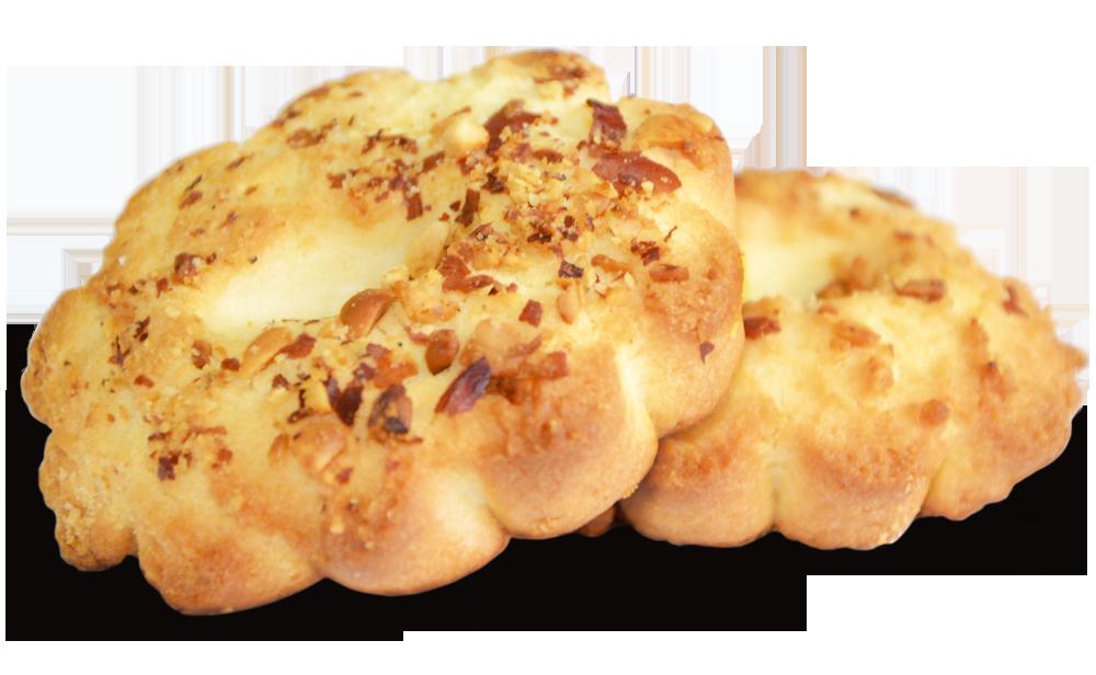 Печенье сдобное песочное «Ореховое»  вес в упаковке 3,0 кг